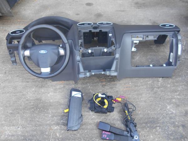 Εικόνα από Αερόσακος  Set  FORD FOCUS (2004-2008)     οδηγού τιμόνι, ταμπλό με συνοδηγού, ταινία, προεντατήρες, δεξιού καθίσματος