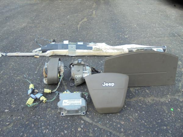 Εικόνα από Αερόσακος  Set  JEEP COMPASS (2007-2011)     οδηγού-συνοδηγού, ζωνες, εγκέφαλος ,αισθητήρας κρούσης,  αριστερή αεροκουρτίνα και ταινία