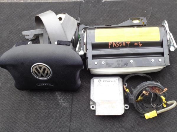 Εικόνα από Αερόσακος  Set  VW PASSAT (2000-2005)     οδηγού, συνοδηγού, ταινία, ζώνη συνοδηγού, εγκέφαλος