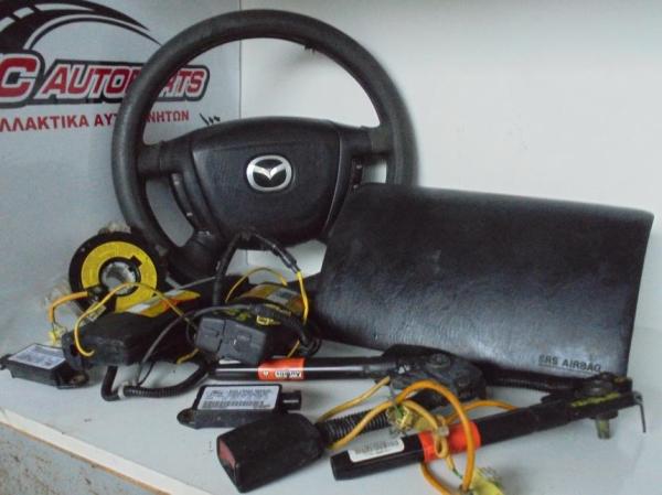 Εικόνα από Αερόσακος  Set  MAZDA TRIBUTE (2002-2008) 3000cc    οδηγού, συνοδηγού, ταινία, προενατήρες, καθισμάτων