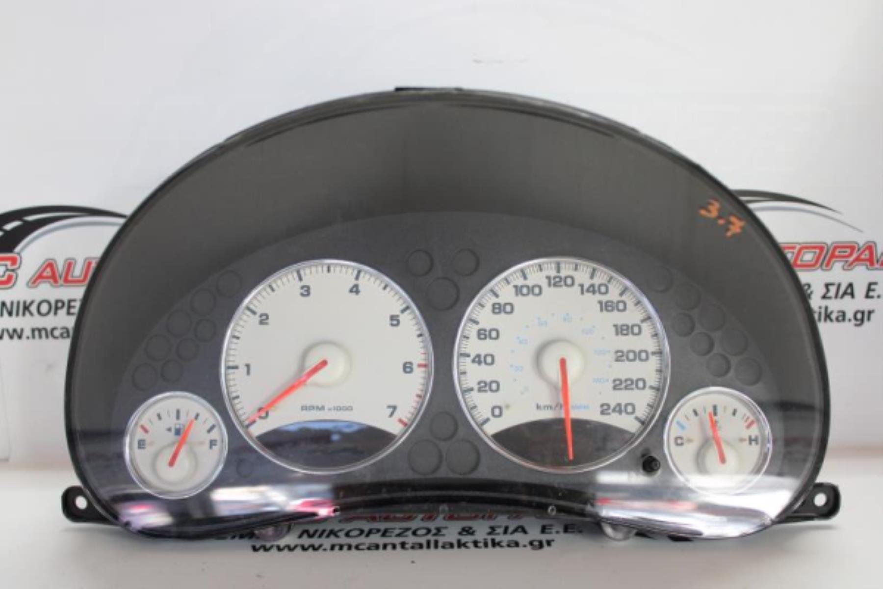 Picture of Όργανα - Κοντέρ  JEEP CHEROKEE (2002-2008)  P56010462AF   βενζίνη