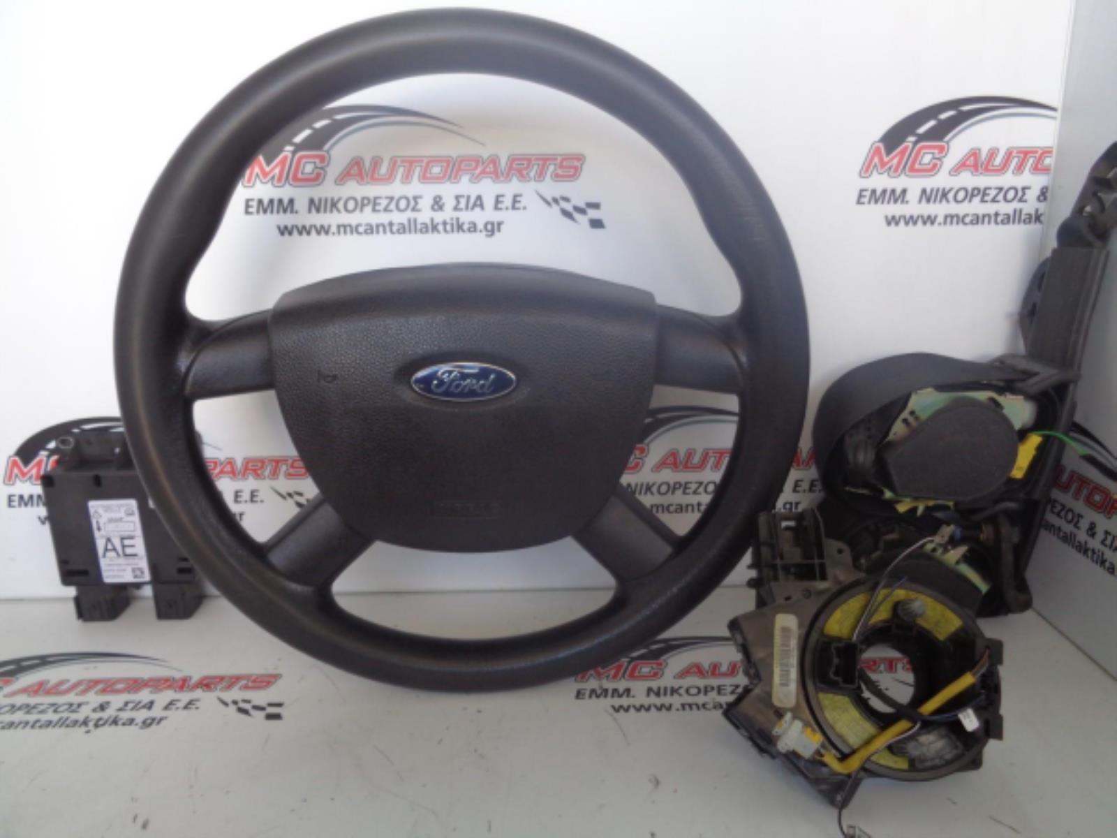 Εικόνα από Αερόσακος  Set  FORD TRANSIT (2006-2013)     οδηγού με τιμόνι, ταινία, εγκέφαλος, ζώνη οδηγού, ζώνη συνοδηγού μηχανική