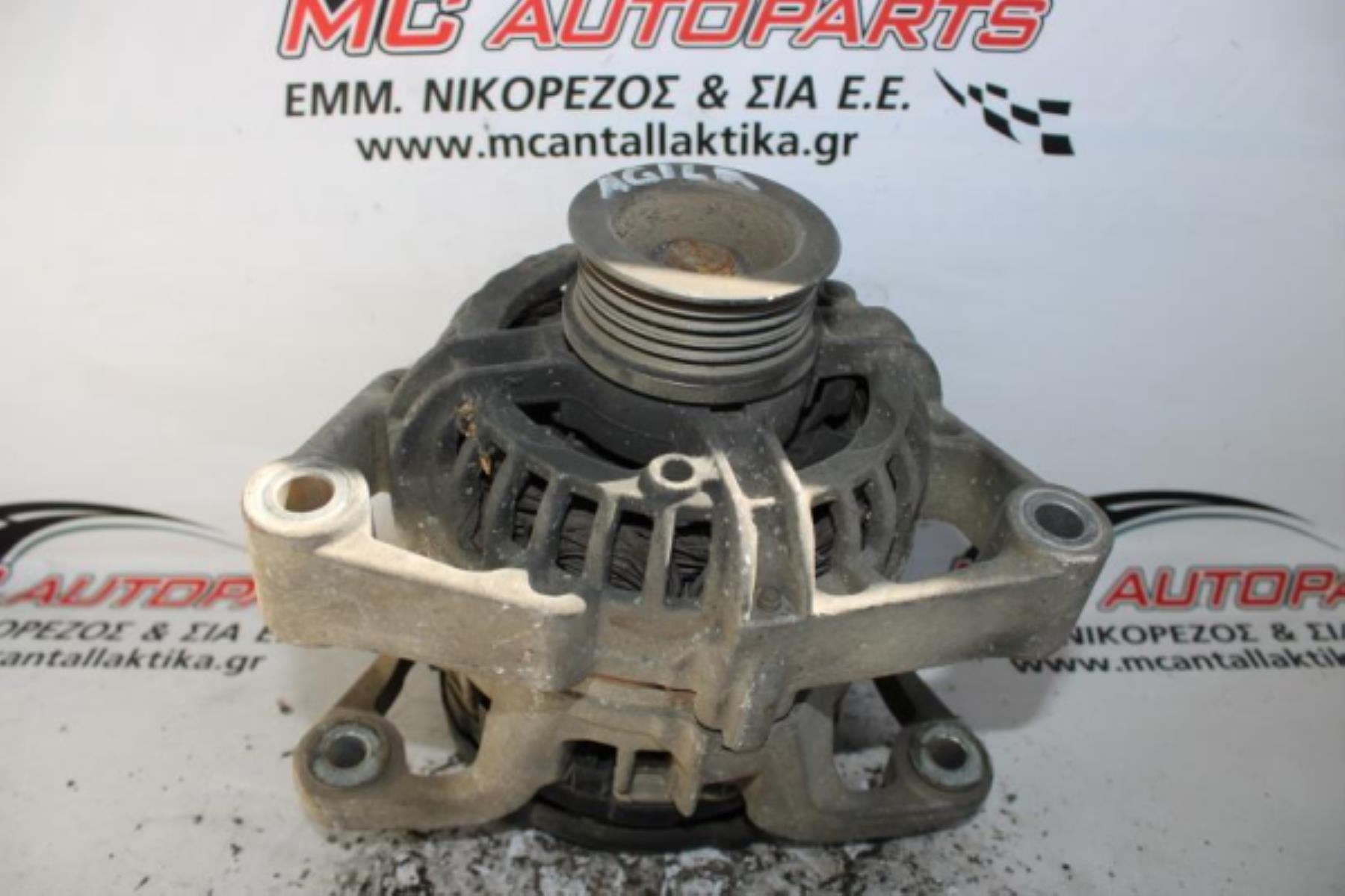Picture of Δυναμό  OPEL AGILA A (1999-2008)  0124225022   70A