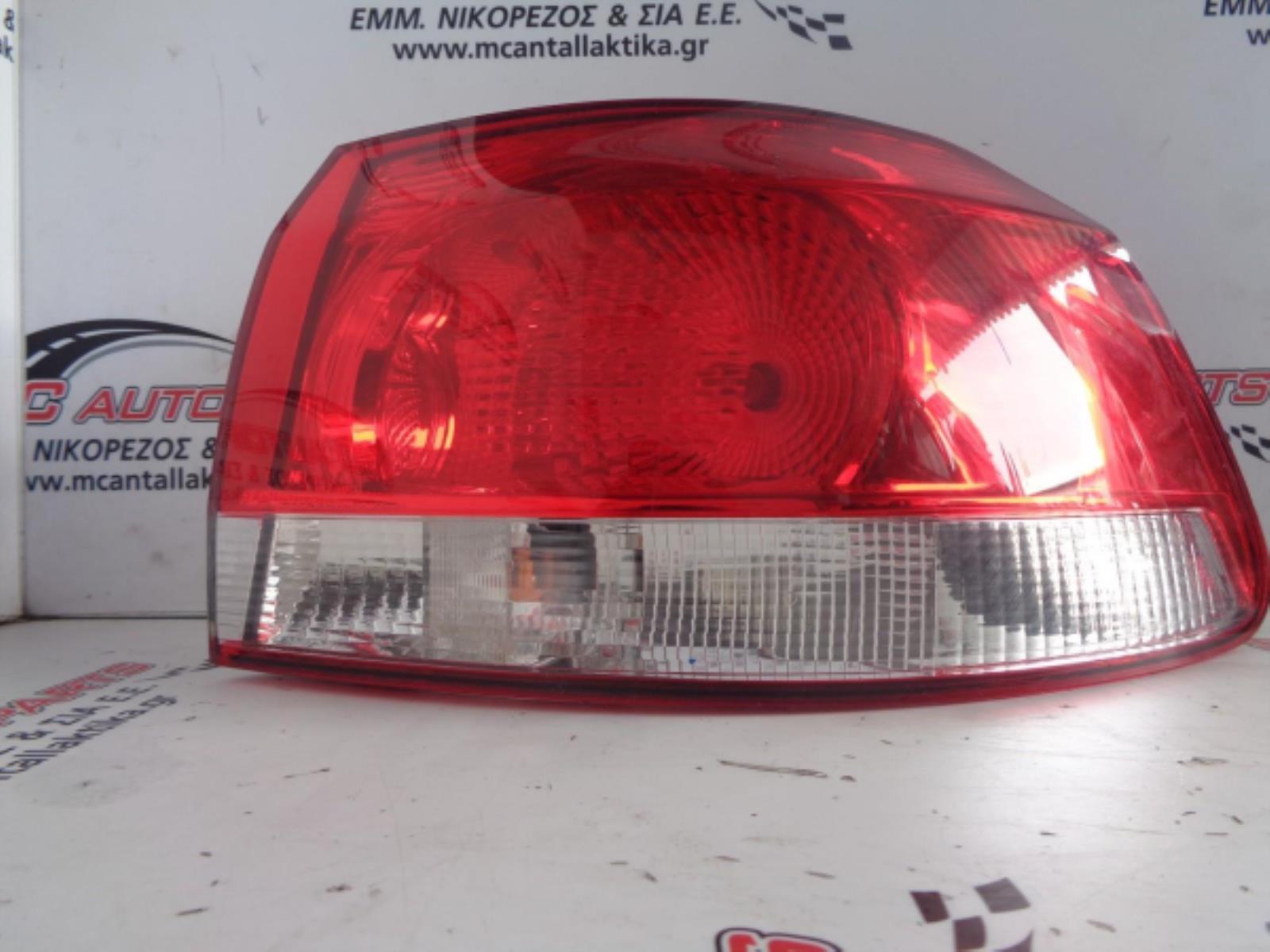 Εικόνα από Φανάρι  Πίσω Δεξιό  VW GOLF 6 (2008-2013)