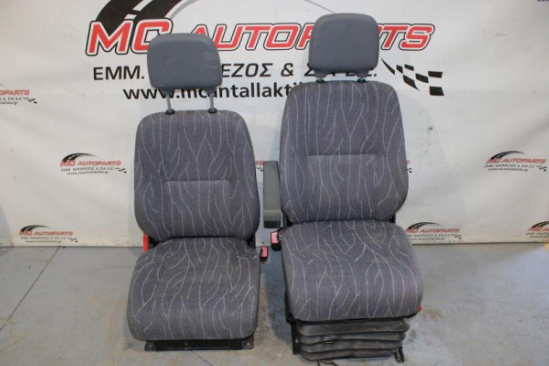 Εικόνα από Σαλόνι  MERCEDES SPRINTER 208-408 (1995-2006)     2 καθίσματα εμπρός, ύφασμα γκρί